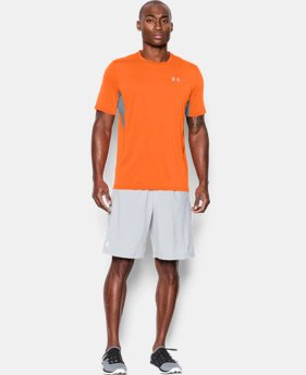 Men's UA CoolSwitch Run Short Sleeve  1 Color $33.99