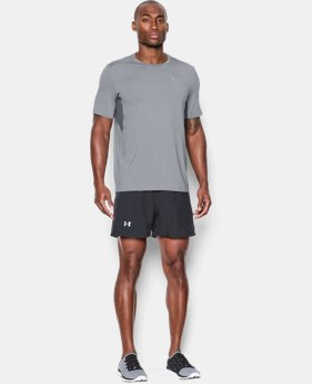 Men's UA CoolSwitch Run Short Sleeve  1 Color $22.49
