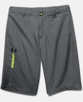 Boys' UA Fade Right Golf Shorts