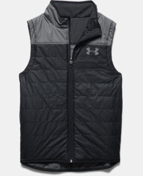 Boys' UA Pure Shot Reversible Puffer Vest  2 Colors $56.99