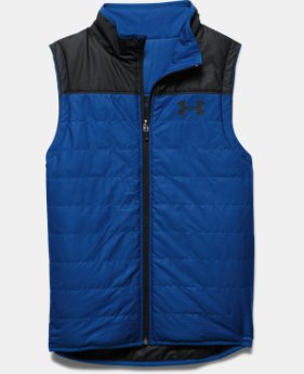 Boys' UA Pure Shot Reversible Puffer Vest  2 Colors $63.99