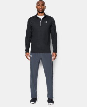Best Seller  Men's UA Threadborne Streaker ¼ Zip  4 Colors $64.99