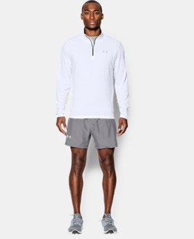 Men's UA Threadborne Streaker ¼ Zip  1 Color $34.49