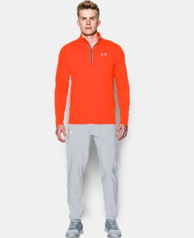 Men's UA Threadborne Streaker ¼ Zip  2 Colors $31.49
