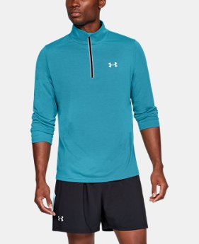 Men's UA Streaker ¼ Zip  2  Colors Available $54.99