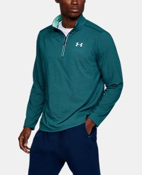 Men's UA Threadborne Streaker ¼ Zip  4 Colors $54.99