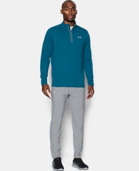 Men's UA Threadborne Streaker ¼ Zip  1 Color $31.49