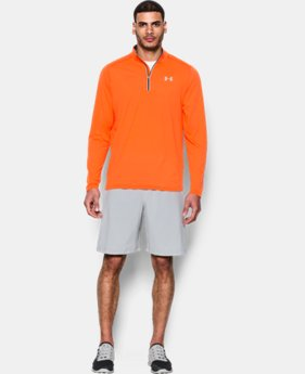 Men's UA Threadborne Streaker ¼ Zip  1 Color $41.99