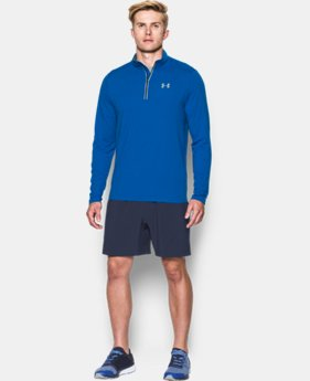 Men's Threadborne™ Streaker Run ¼ Zip   $41.99