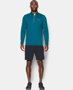 Men's UA Threadborne Streaker ¼ Zip  1 Color $38.49