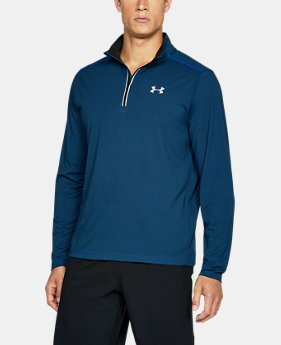 Men's UA Threadborne Streaker ¼ Zip  5 Colors $54.99