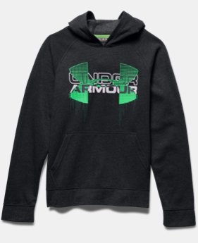 Boys' UA Commuter Tri-Blend Fleece Hoodie