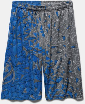 Boys' UA Backboard Shatter Basketball Shorts