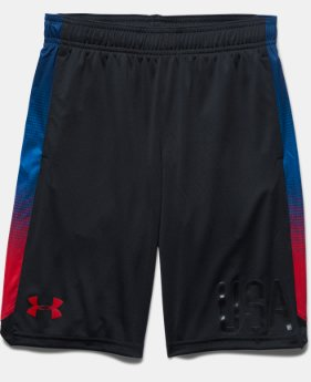 Boys' UA R2R USA Shorts