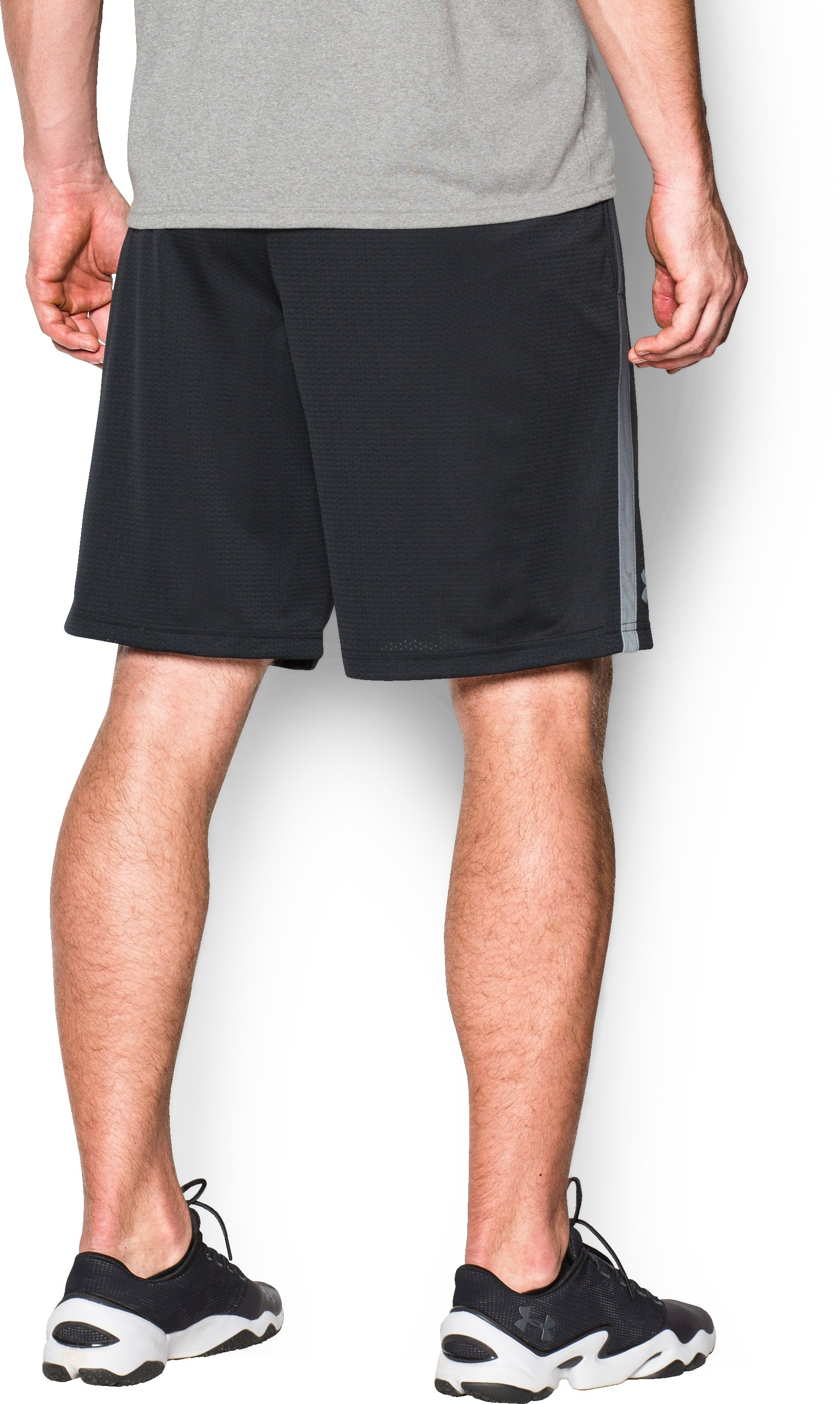 Men's UA Tech™ Mesh Shorts, Black ,