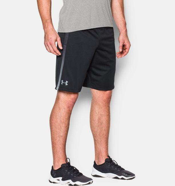 Black Layered Mesh Shorts with Attatched Side Pocket MaEShc