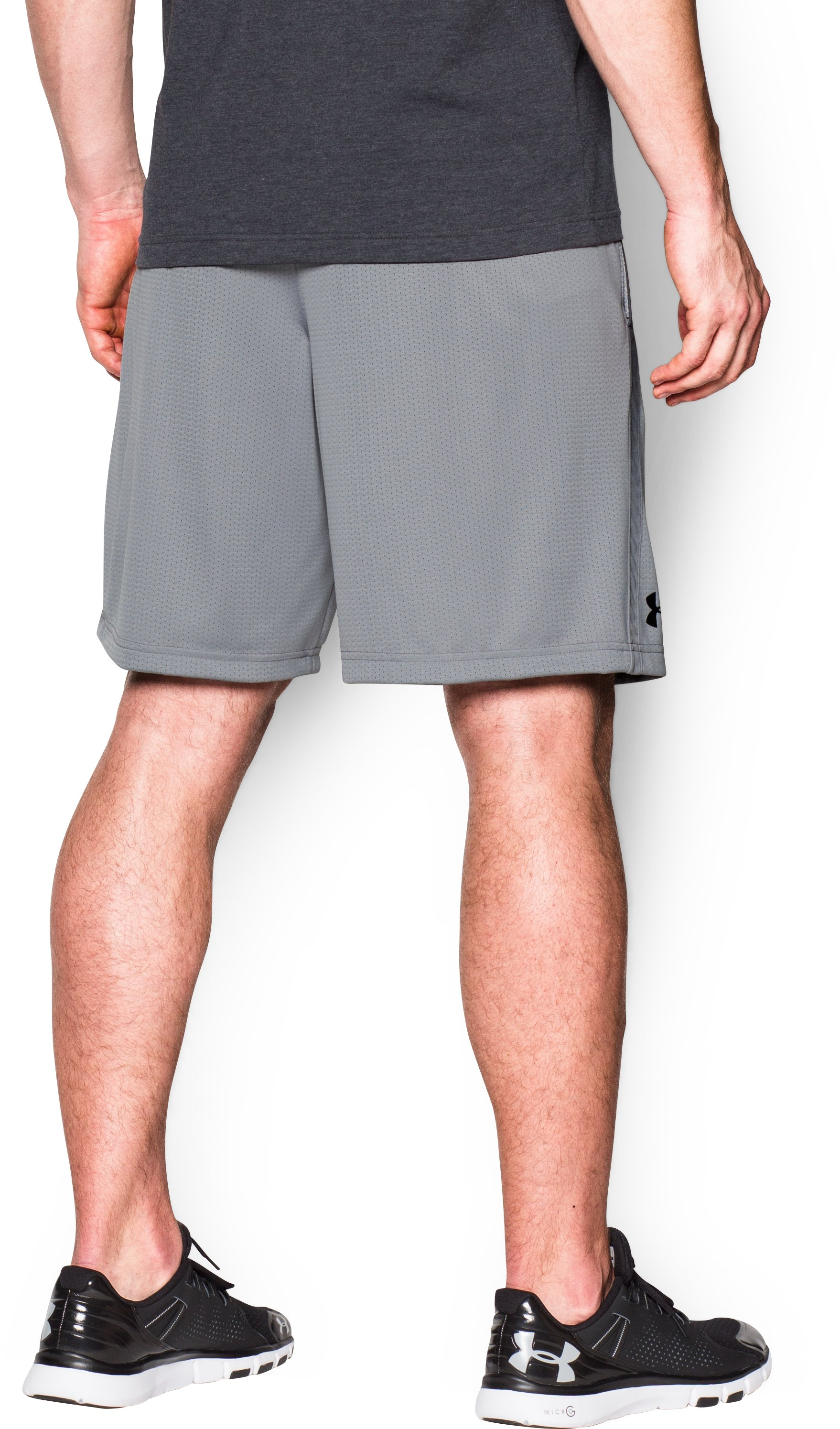 Men's UA Tech™ Mesh Shorts, Steel,