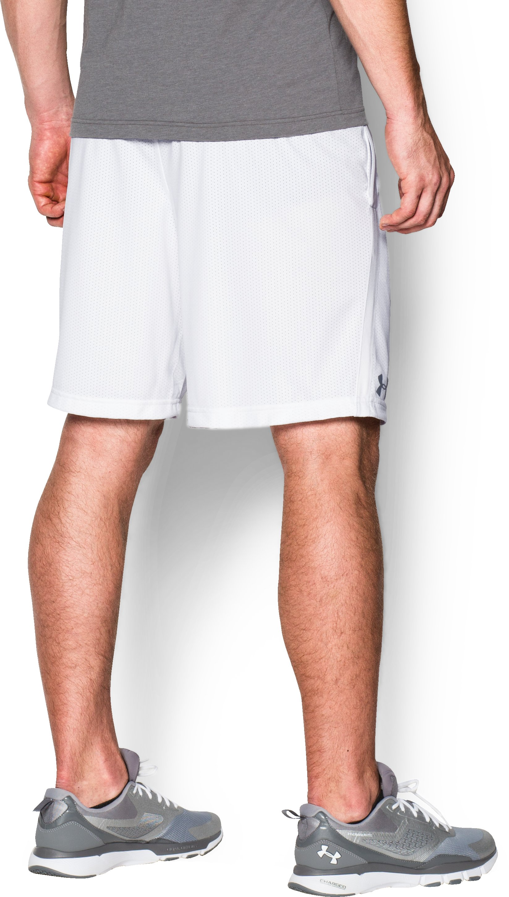 Men's UA Tech™ Mesh Shorts, White, undefined