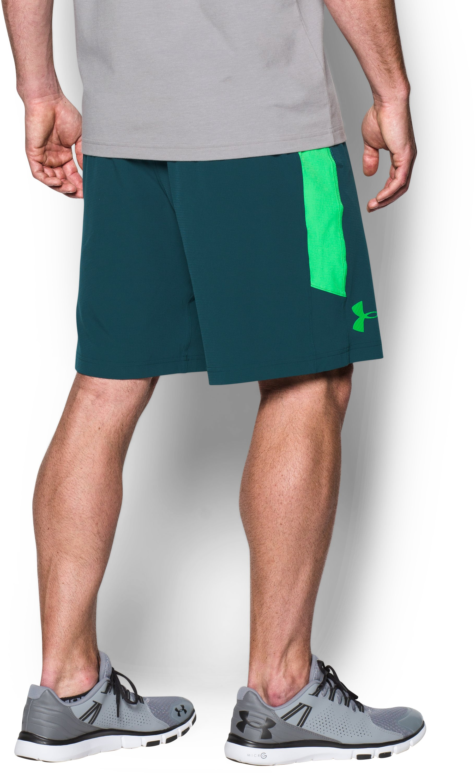 Men's UA Scope Shorts, NOVA TEAL, undefined