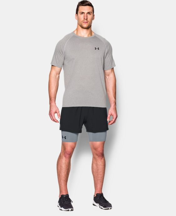 New Arrival  Men's UA Mirage 2-in-1 Training Shorts   4 Colors $44.99