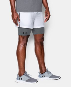 Men's UA Mirage 2-in-1 Training Shorts  LIMITED TIME: FREE SHIPPING 1 Color $29.99 to $44.99
