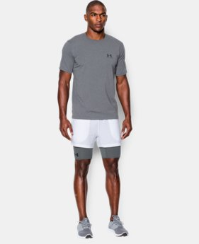 New Arrival  Men's UA Mirage 2-in-1 Training Shorts  LIMITED TIME: FREE SHIPPING 1 Color $44.99