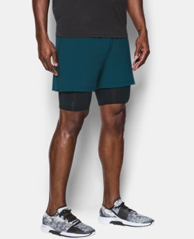 Men's UA Mirage 2-in-1 Training Shorts   6 Colors $29.99 to $33.99