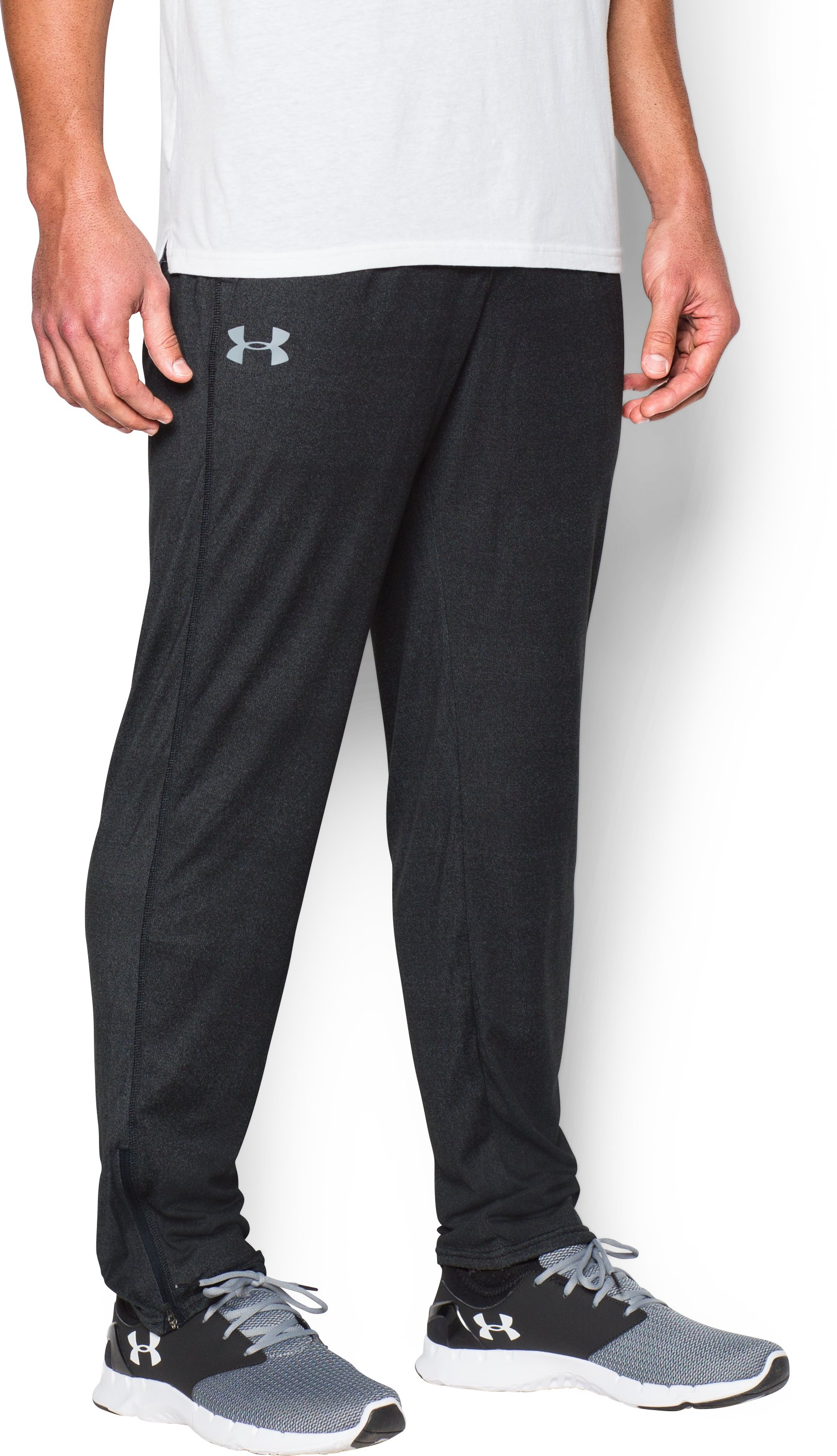 Men's UA Tech™ Pants, Black , undefined