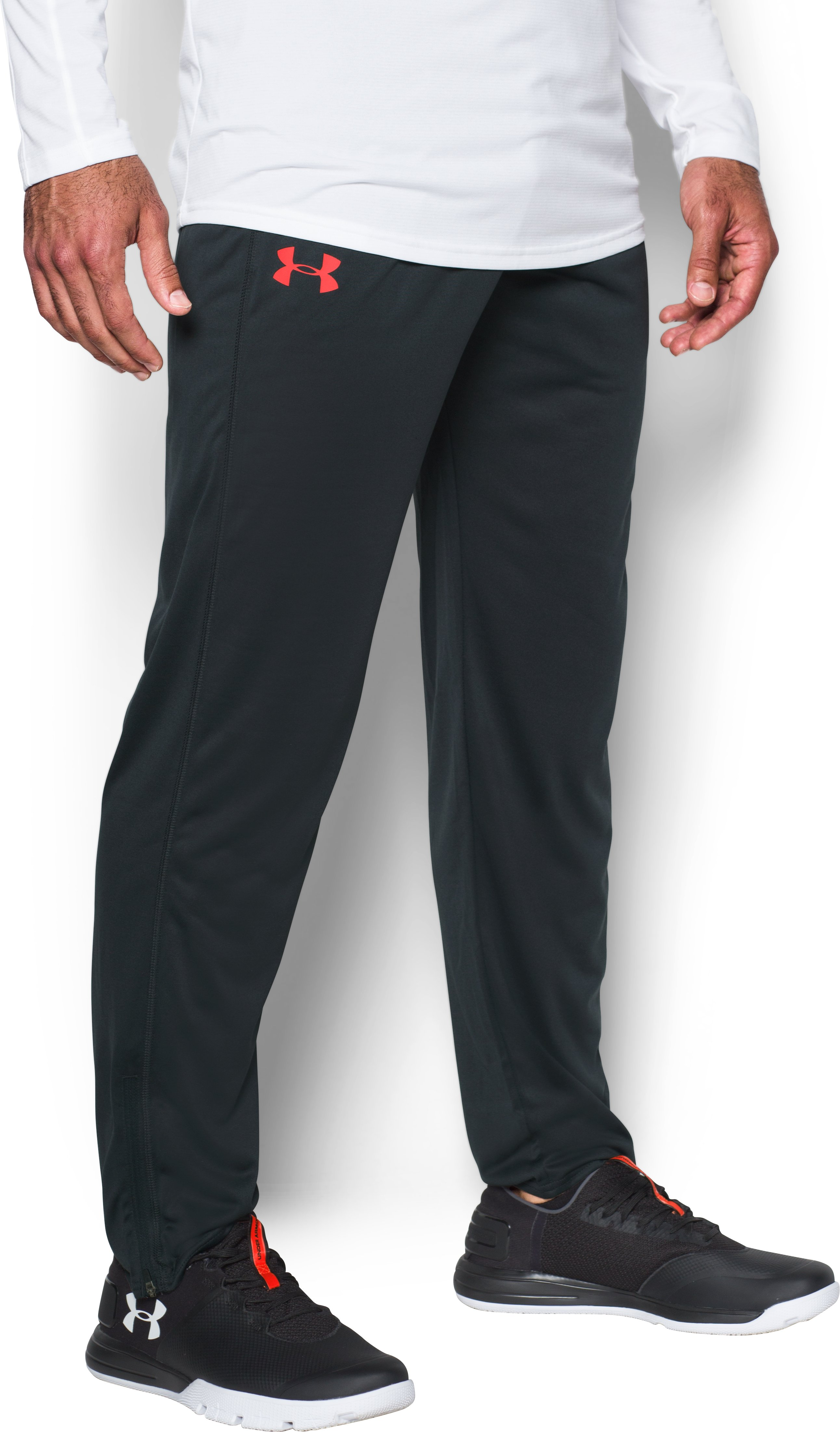 Men's UA Tech™ Pants, ANTHRACITE, zoomed image