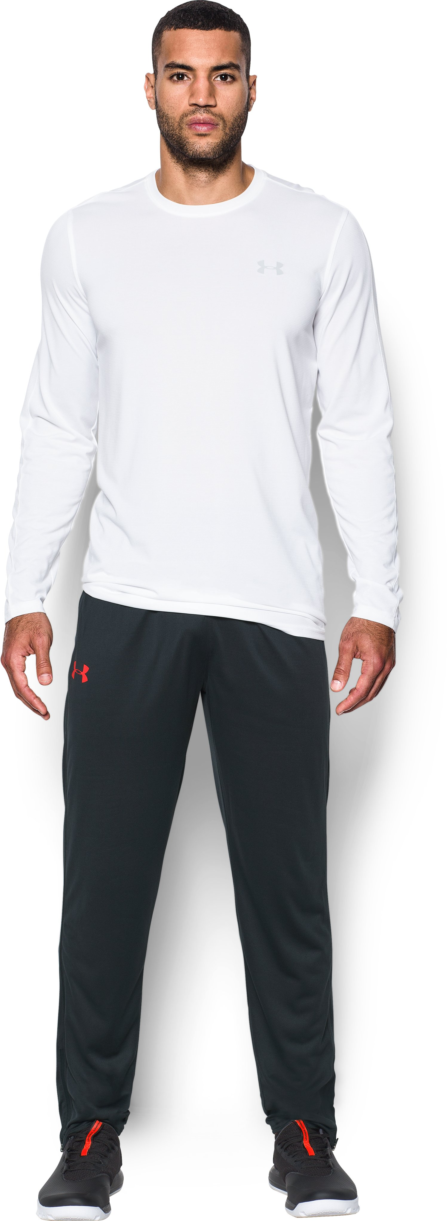 Men's UA Tech™ Pants, ANTHRACITE, Front