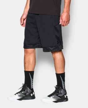 Men's UA Baseline Basketball Shorts  4 Colors $17.99 to $18.99