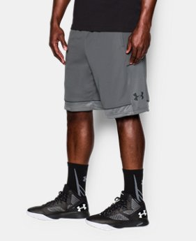 New Arrival  Men's UA Baseline Basketball Shorts   $34.99