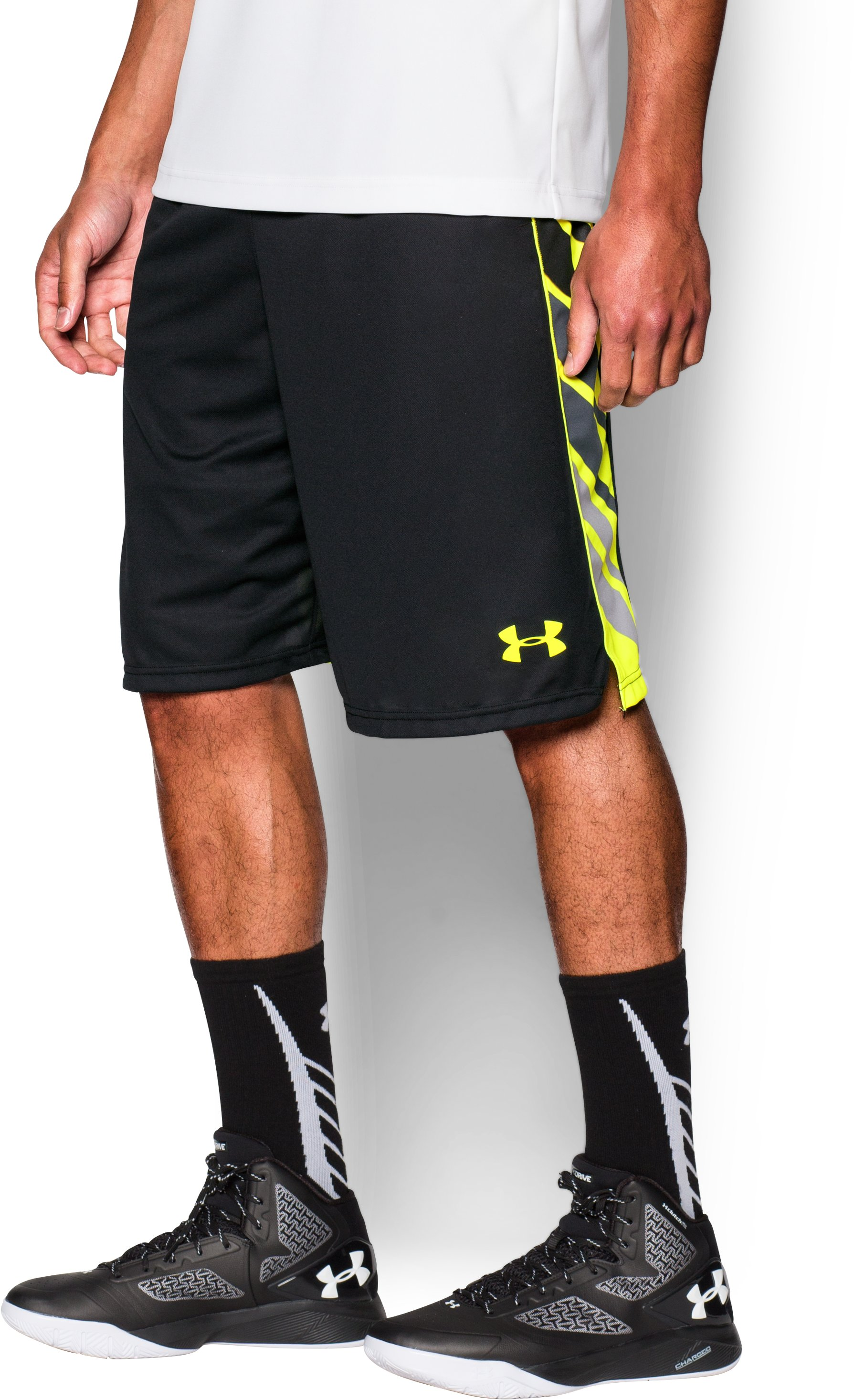 Men's UA Select Basketball Shorts, Black , undefined