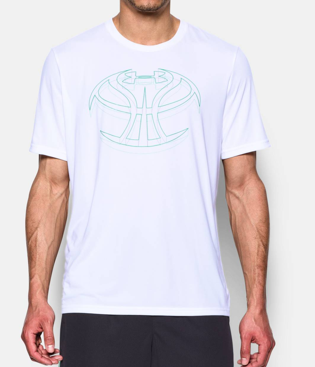 Men s ua 3d basketball icon t shirt under armour us for Men s basketball t shirts