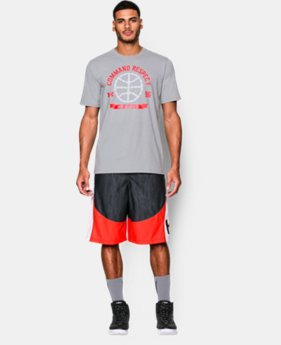Men's UA Command Respect T-Shirt  1 Color $17.99