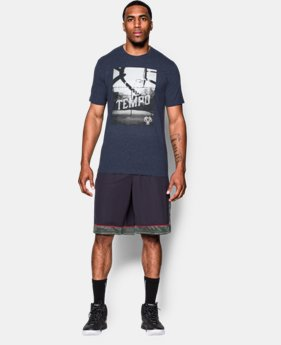 Men's UA Dictate The Tempo T-Shirt  1 Color $17.99