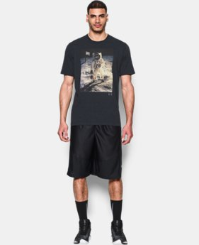 Men's UA Space Ball T-Shirt  1 Color $22.99