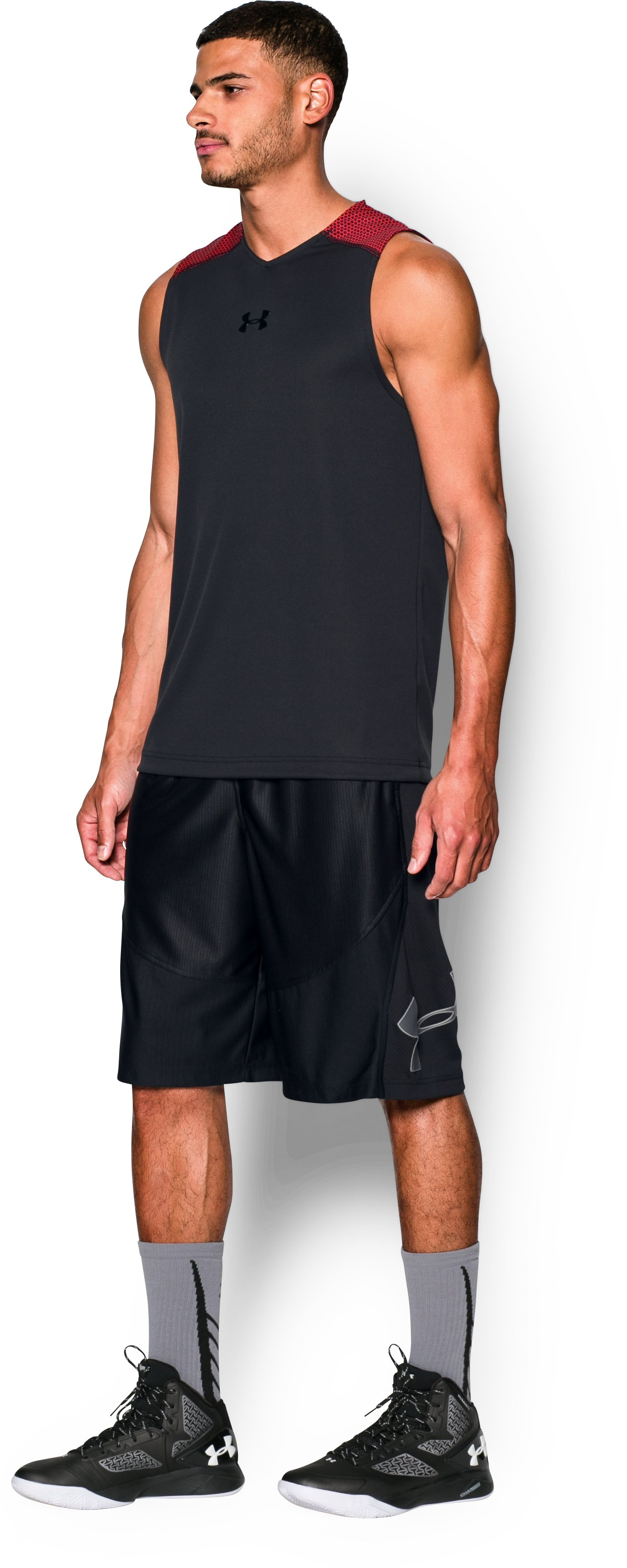 Men's UA Select Tank, Black , undefined