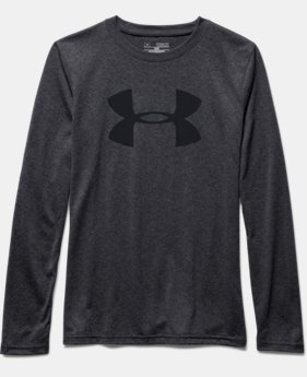 Boys' UA Big Logo Long Sleeve T-Shirt