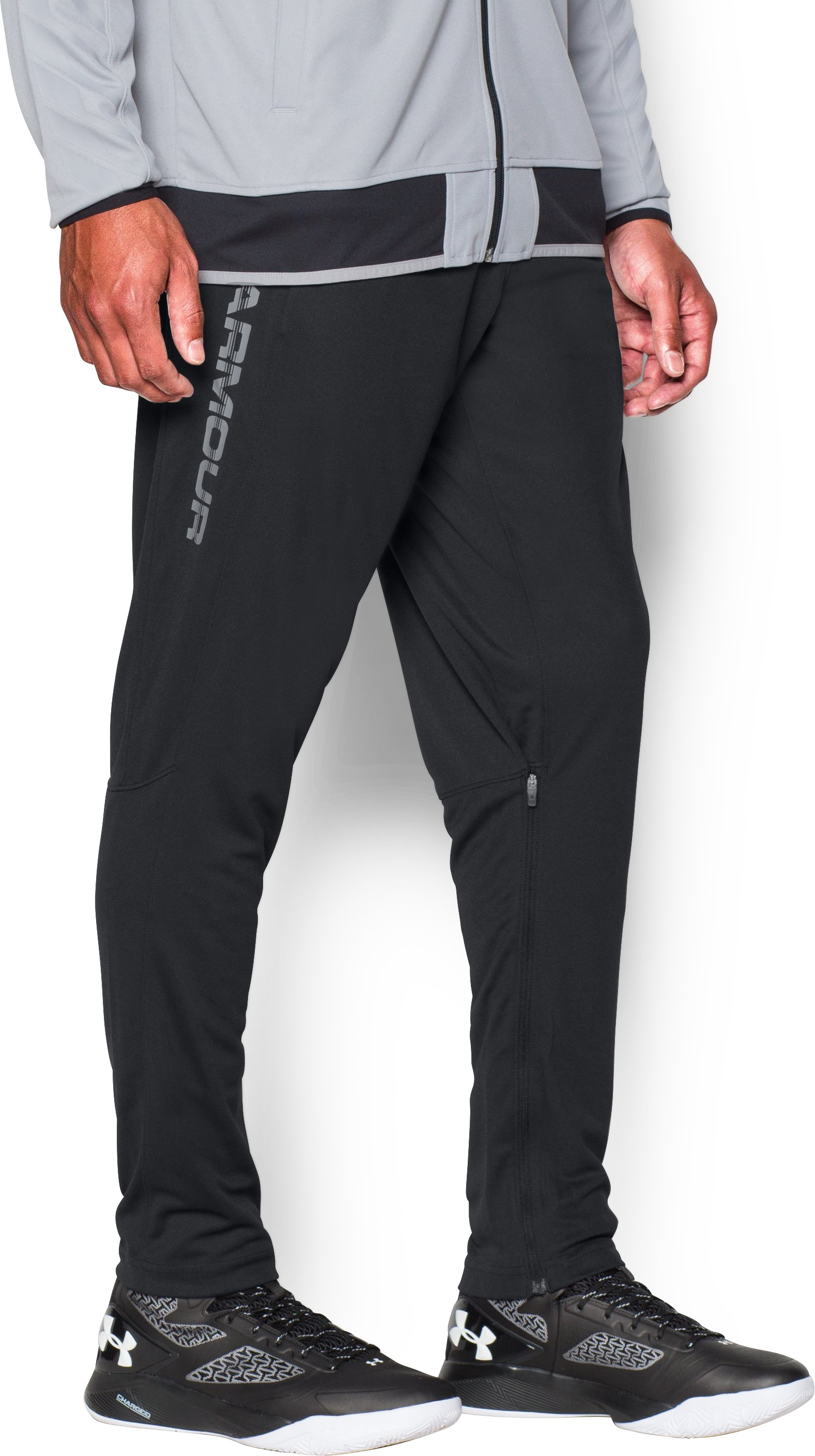 Men's UA Select Shooting Pants, Black ,