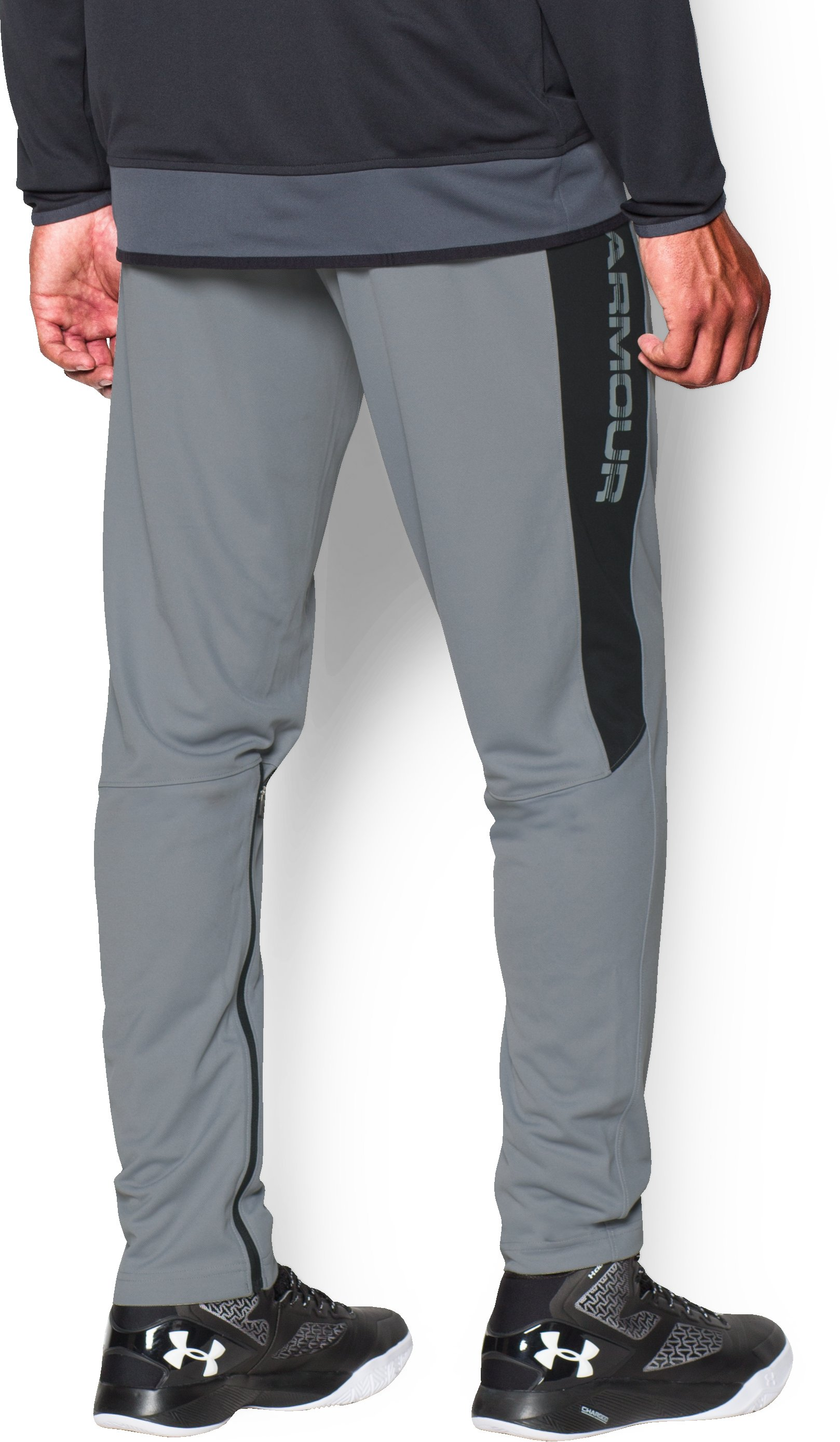 Men's UA Select Shooting Pants, Steel