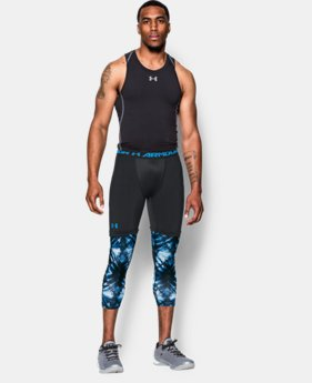 Men's SC30 Lock In ¾ Compression Leggings