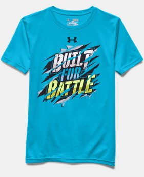 Boys' UA Built For Battle T-Shirt