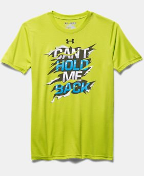 Boys' UA Can't Hold Me Back T-Shirt
