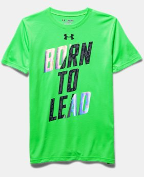 Boys' UA Born To Lead T-Shirt