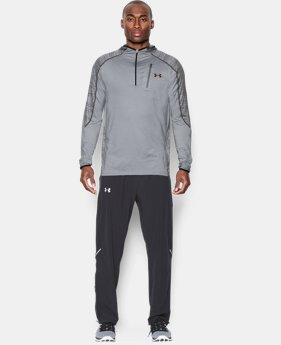 Men's UA CoolSwitch Run ¼ Zip LIMITED TIME: FREE SHIPPING 2 Colors $56.24