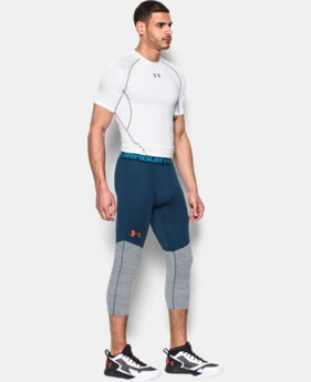 Men's UA CoolSwitch ¾ Compression Leggings  1 Color $44.99