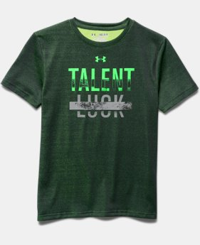 Boys' UA Talent Over Luck T-Shirt