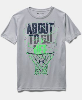 Boys' UA About To Go Off T-Shirt