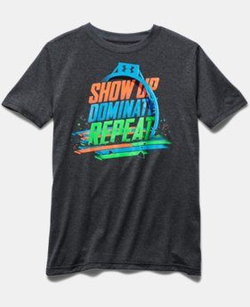 Boys' UA Dominate The Court T-Shirt